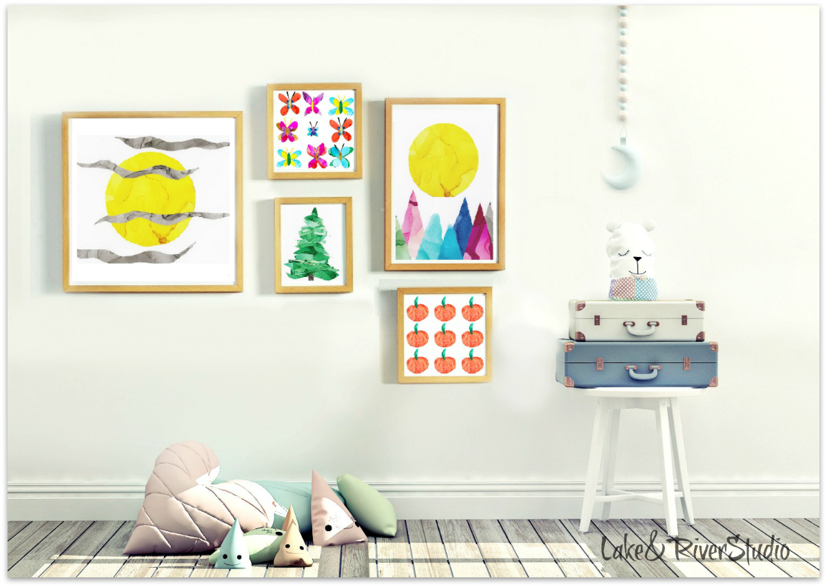 art prints for baby nursery