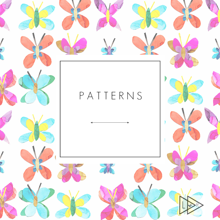 Decorative patterns by Lake and River Studio