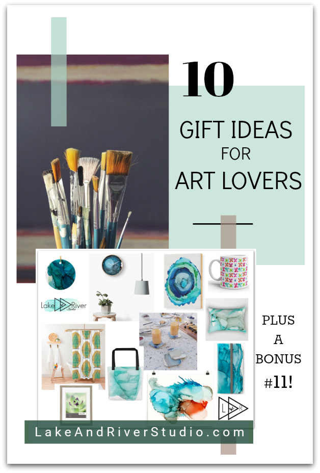 Great Gift Ideas for the Art lover