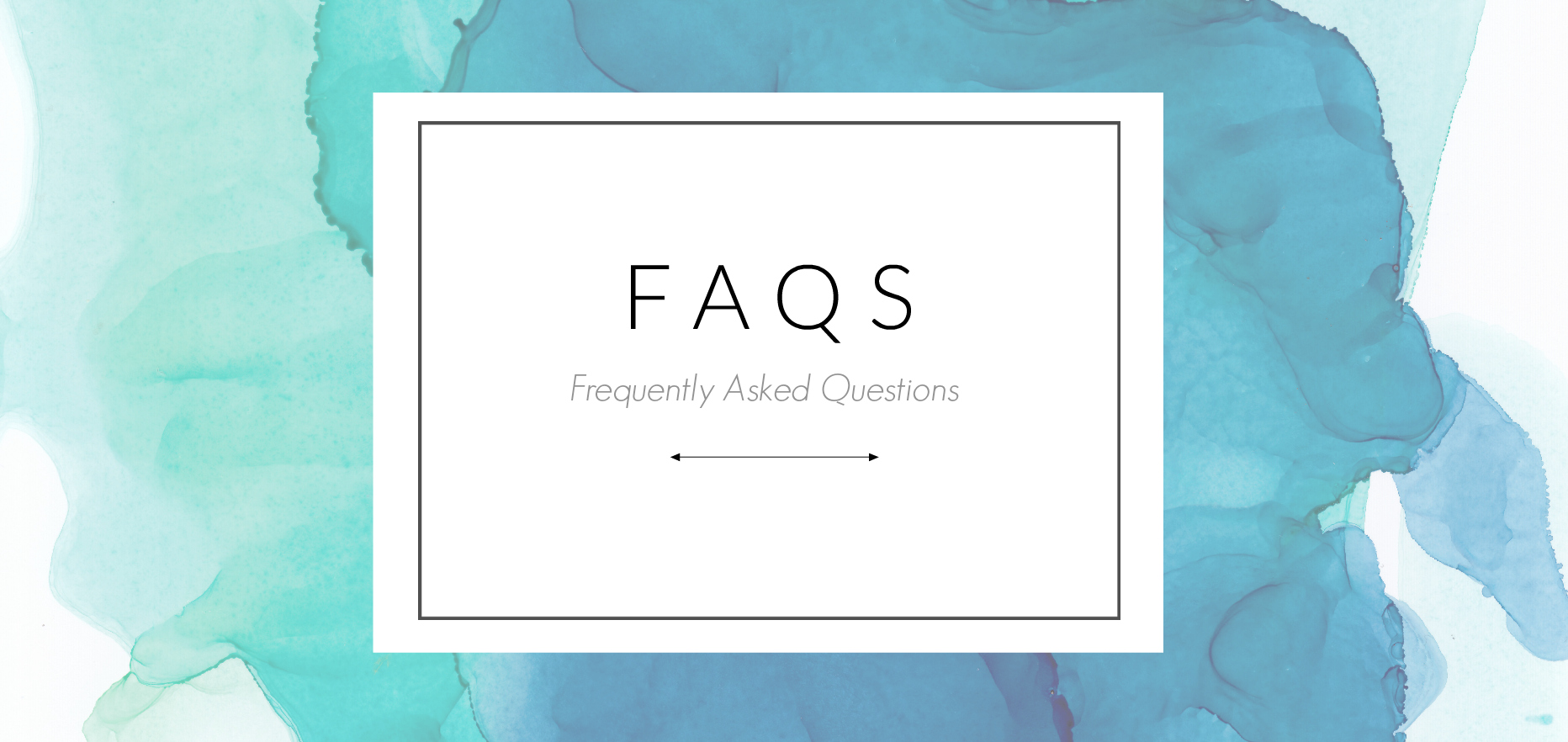 art studio frequently asked questions
